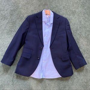 Suit Jacket and Dress Shirt